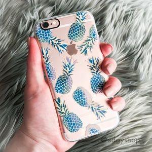 Ombré Pineapple iPhone Case